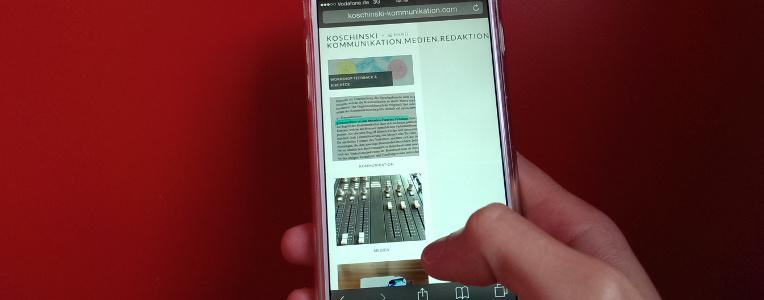 koschinski - kommunikation.medien.redaktion. ist endlich online!