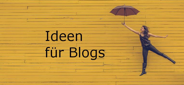 Ideen für Blogs: Diese Arten von Content gibt es.