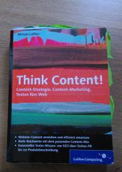 Buchcover Think Content!