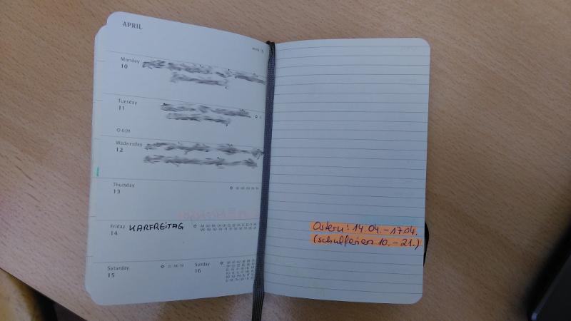 """""""Von der Hand in den Kopf"""" - produktiver im Alltag durch Papier und Stift."""