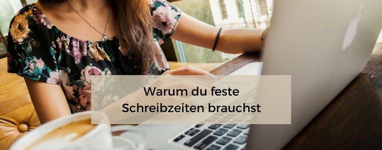 Feste Schreibzeiten helfen dir beim strategischen Blogaufbau
