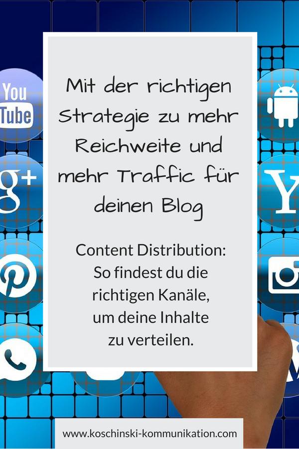 Mehr Reichweite und mehr Traffic dank strategischer Verteilung deiner Inhalte.