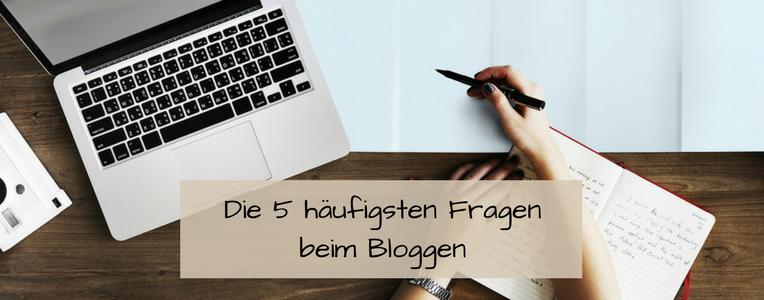 Muss ich dies, muss ich das? Die 5 häufigsten Fragen beim Bloggen und die beruhigenden Antworten.