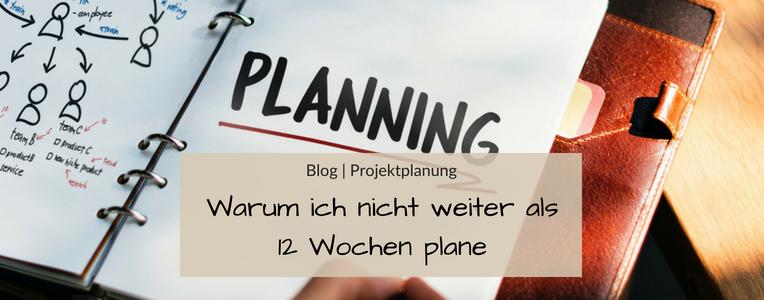 Projekte planen mit Fokus