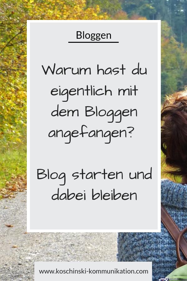 Blog starten, Blog aufbauen, Blog-Aufbau, Motivation für den Blog