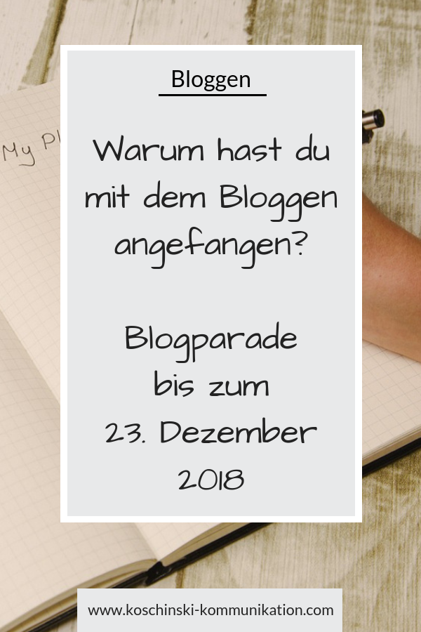 Blog starten, Blog-Start, Blog aufbauen, Motivation beim Bloggen