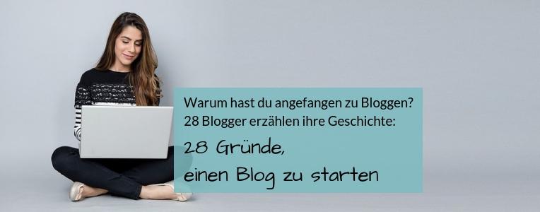 Blog starten, Gründe für einen Blog, Motivation für Blogger