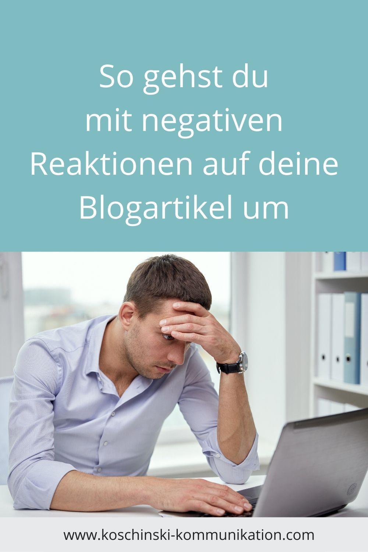 Angst vorm Bloggen, Angst vor negativen Reaktionen, Shitstorm, Social Media