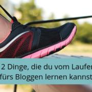 Vom Laufen fürs Bloggen lernen, Routinen, Schreiben, Texten, Bloggen