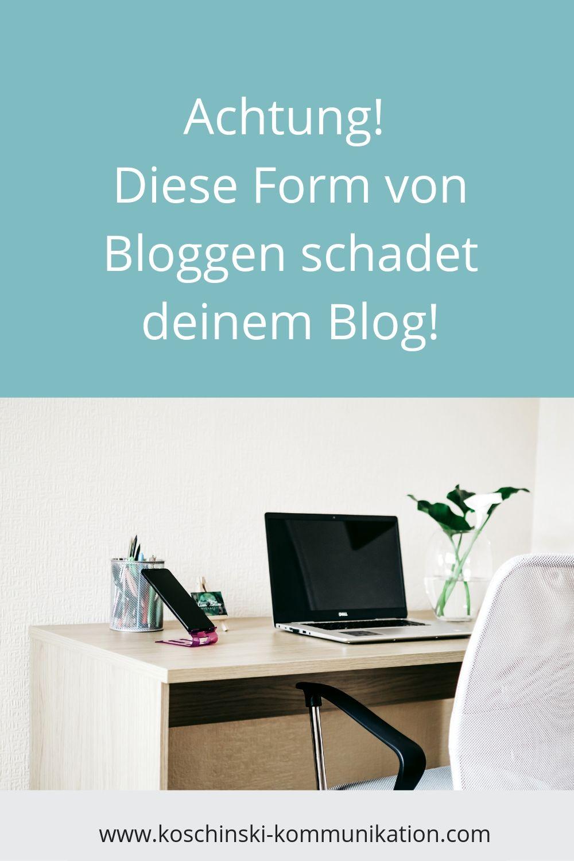 Achtung vor Meta-Blogging, das kann deinem Blog schaden