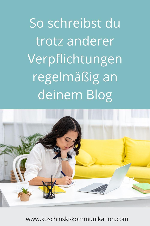 Blog, Routine, regelmäßig schreiben, regelmäßig bloggen