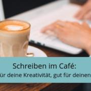 Schreiben im Café, Arbeiten im Café, Bloggen im Café