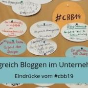 Corporate Blog Barcamp 2019, Sessionplan cbb19, erfolgreich bloggen im Unternehmen