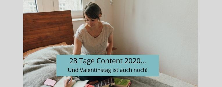 28 Tage Content 2020, Content produzieren, produktiver arbeiten, Schreibroutinen entwickeln
