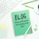 Blog aufbauen mit wenig Zeit, was du zum bloggen brauchst, Blogaufbau