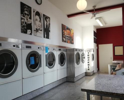 Bloggen im Waschsalon, SB Waschsalon Bielefeld, Orte zum Schreiben