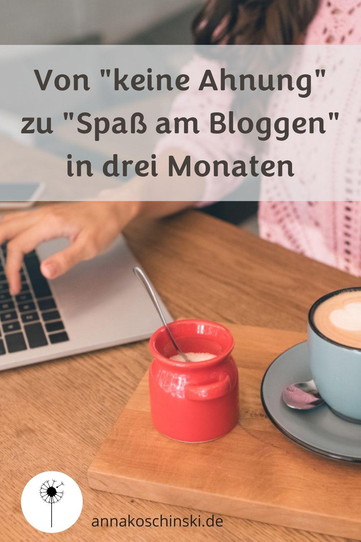 Blogger werden, Blog starten, Blog aufbauen, Blogcoaching, Coaching, Spaß am Bloggen
