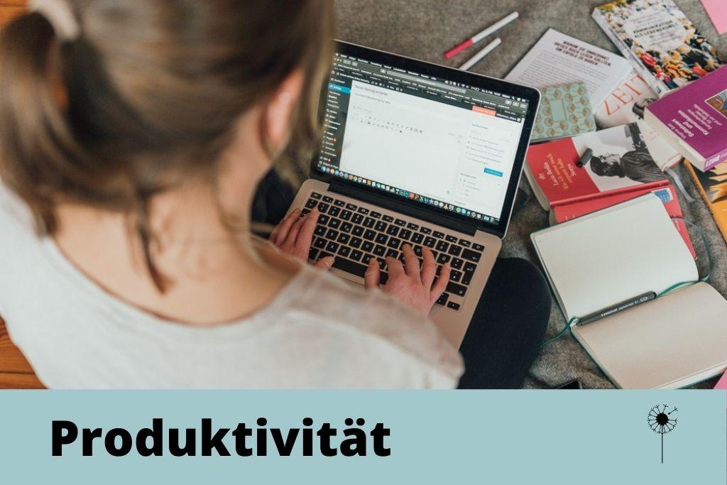 Produktivität beim Bloggen, Effizienz, produktiv bloggen, schneller schreiben, besser arbeiten