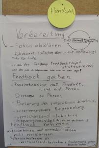 Ergebnisse des Workshops II
